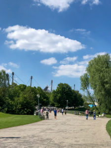 Olympiapark München während Corona