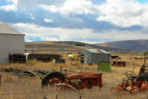 USA Roadtrip, Landwirtschaft, Aussicht, Mittlerer Westen, Traktor