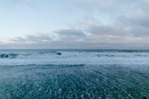Black Sand Beach Vik in Iceland Kirkjufjara Beach