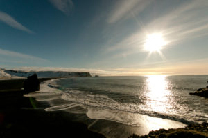 Black Sand Beach, Vik, Island, Kirkjufjara Beach