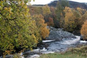Landscape in Scotland's Highlands