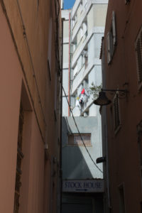 Innenstadt von Orosei, Sardinien