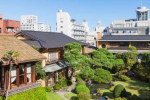 Japan, Honshu, Shizuoka Prefecture, Atami, Kiunkaku Ryokan Museum