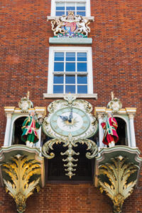 England, London, Piccadilly, Fortnum & Mason, Fortnum's Clock