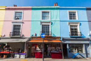 England, London, Notting Hill, Portobello Road, Antique Shops