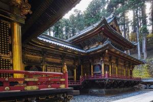 Japan, Honshu, Tochigi Prefecture, Nikko, Rinnoji Temple and Taiyuin Mausoleum