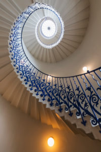 England, London, Greenwich, The Queens House Gallery and Museum, The Tulip Staircase