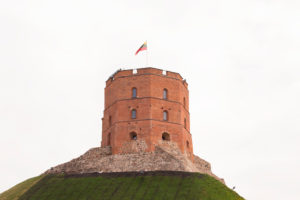 Gediminas Tower of the Upper Castle, Vilnius, Lithuania