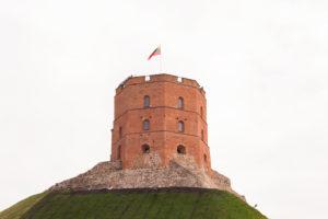 Gediminas-Turm der Oberen Burg, Vilnius, Litauen