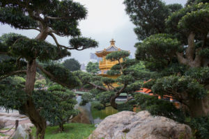 Pavillon der absoluten Perfektion, Nan Lian Garden, Diamond Hill, Kowloon, Hongkong