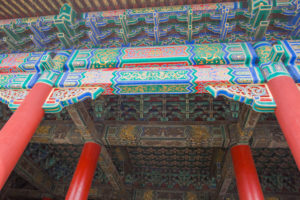 Ceiling Decoration, The Forbidden city, Beijing, China