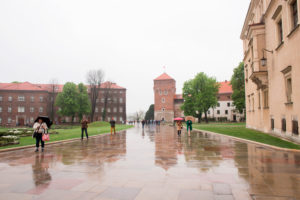 Wawel Castle and Cathedral. Wawel, Krakow, Poland