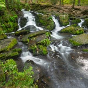Deutschland, Sachsen-Anhalt, Alexisbad, Harz, Wasserfall der Selke