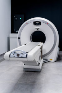 MRI scanner in veterinary clinic