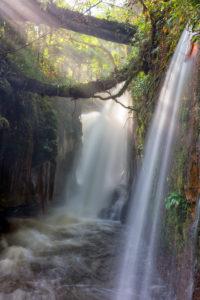 Waterfall around the city of Presidente Figueiredo, Amazon region, Brazil