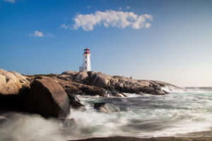Canada, Nova Scotia, Peggy's Cove, lighthouse