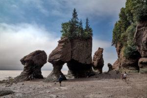Kanada,  New Brunswick, Hopewell Rocks