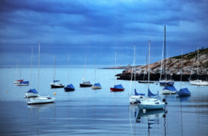 Neuengland, Massachusetts, Rockport, Hafen, Ruderboote