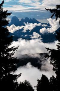 Italien, Südtirol, Feldthurns, Latzfons, Panorama