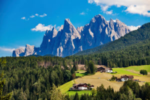 Italien. Südtirol, Villnößtal, Geislergruppe