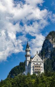 Deutschland, Bayern, Füssen, Schloss Neuschwanstein