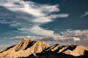 South Dakota, Badlands National Park, rock formation