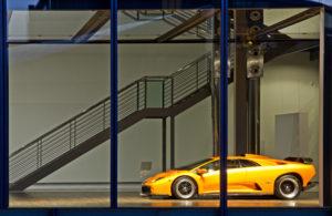 Wolfsburg, Autostadt, Lamborghini, Architektur