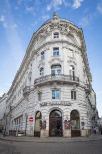 Palais Herberstein with Cafe Griensteidl, Michaelerplatz, 1st district, Innere Stadt, Vienna, Austria