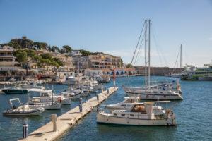 Hafen, Cala Rajada, Mallorca, Balearen, Spanien