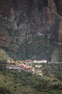 View of the mountain village of Masca in the Teno Mountains, Tenerife, Canary Islands, Spain