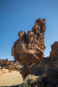 Gesteinsformationen beim Aussichtspunkt Minas de San Jose, Nationalpark El Teide, UNESCO-Welterbe, Teneriffa, Kanarische Inseln, Spanien