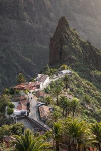 Bergdorf Masca im Teno-Gebirge, Teneriffa, Kanarische Inseln, Spanien