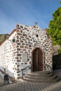 The Ermita de la Inmaculada Concepcion church in the mountain village of Masca, Tenerife, Canary Islands, Spain