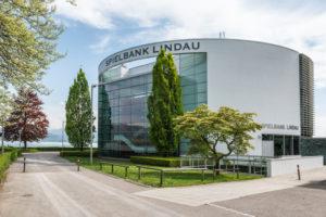 Lindau, Bavaria, Germany, Casino on the island of Lindau