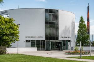Lindau, Bayern, Deutschland, Spielbank auf der Insel Lindau