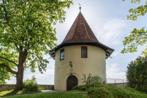 Lindau, Bavaria, Germany, Pulverturm Tower on the island of Lindau