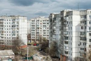 Schytomyr, Oblast Schytomyr, Ukraine, Plattenbau Siedlung