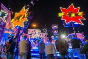 Frankfurt am Main, Hessen, Deutschland, Fahrgeschäft Break Dancer auf der Frankfurter Frühjahrs Dippemess