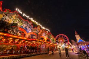 Frankfurt am Main, Hessen, Deutschland, Fahrgeschäft auf der Frankfurter Frühjahrs Dippemess