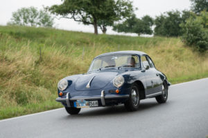 Bad König, Hesse, Germany, Porsche 356 SC, built in 1964, 1582 cc, 95 hp at the classic festival.