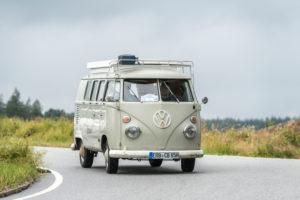 Bad König, Hesse, Germany, VW Bulli T1, built in 1965 at the Klassikerfestival.