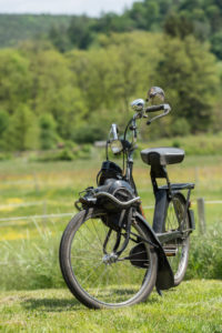 Breuberg, Hessen, Germany. Velosolex, built in 1975.