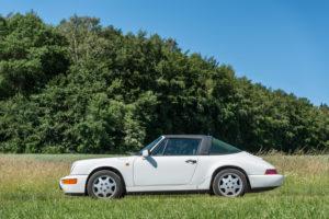 Breuberg, Hessen, Deutschland, Porsche 911 Typ 964, Carrera 2 Targa, Baujahr 1991, 250 PS, 3600 ccm.