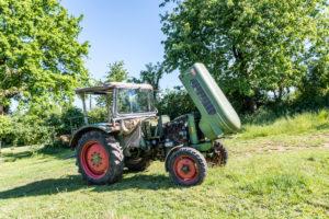 Michelstadt,Hessen, Fendt Dieselross Farmer 2D, Typ FW 228, Baujahr 1963, 28 PS, 1990 ccm.