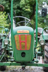 Breuberg, Hessen, Deutschland. Holder Traktor vom Typ B 12, Baujahr 1955, 12 PS, Hubraum 604 ccm.