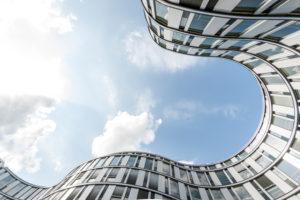 Facade, Modern Architecture, Die Welle, Hamburg, Germany