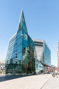Moderne Architektur, Westerdok, Amsterdam, Niederlande