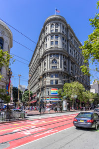 Historic Architecture, Market Street, Downtown, San Francisco, California, USA