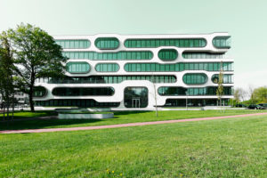 Modern office building,An der Alster 1,Hanseatic city of Hamburg,Germany