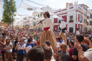 Festival in honor of the patron saint (Mare de Deu de Gracia) of Mao, Menorca